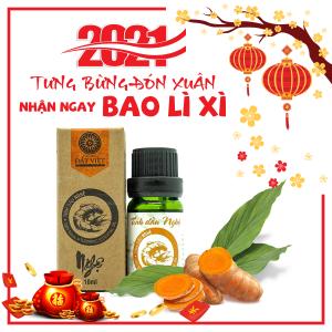 Tinh Dầu Nghệ Nguyên Chất Đất Việt