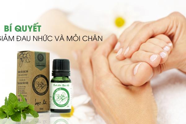 Cách chọn tinh dầu massage chân hiệu quả tại nhà | Tinh Dầu Đất Việt