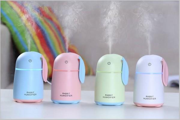 Máy phun sương khuếch tán tinh dầu mini Rabbit Humidifier