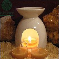 Sử dụng đèn xông kết hợp tinh dầu