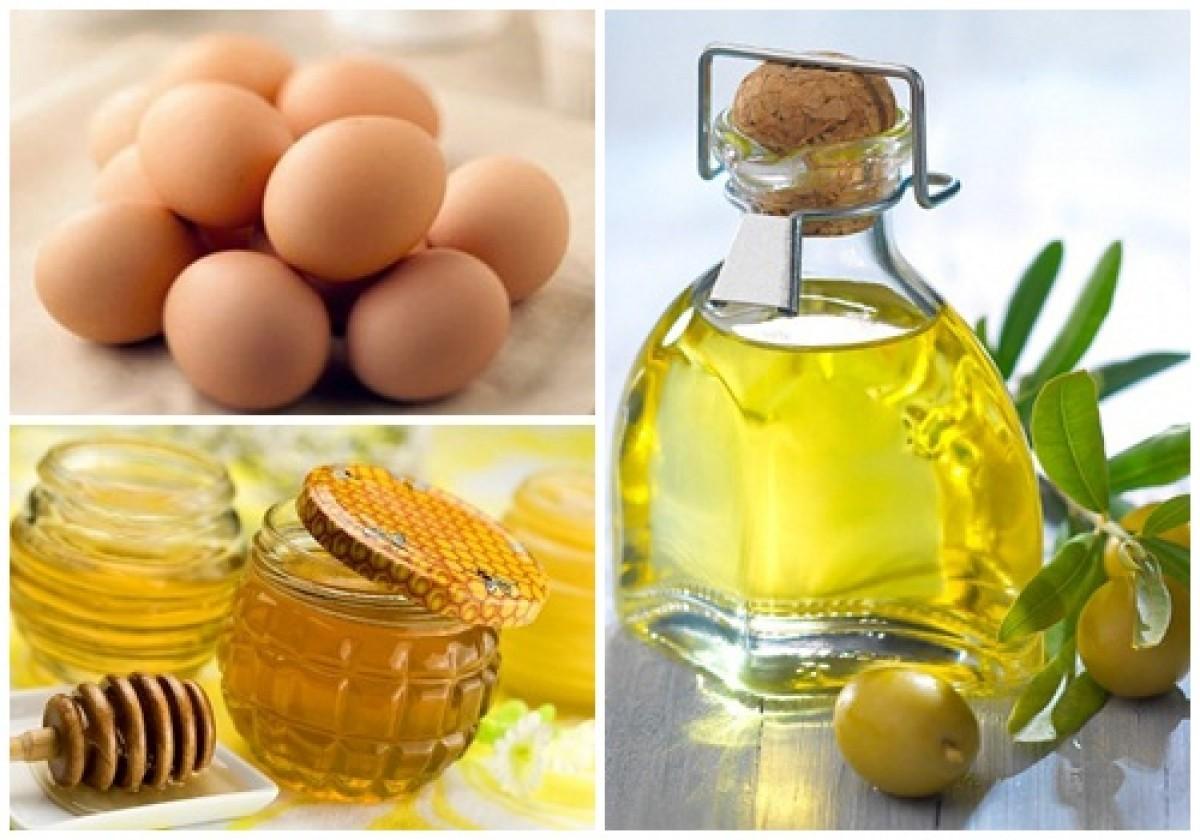 Cách làm trắng da sử dụng dầu dừa, mật ong và lòng đỏ trứng gà
