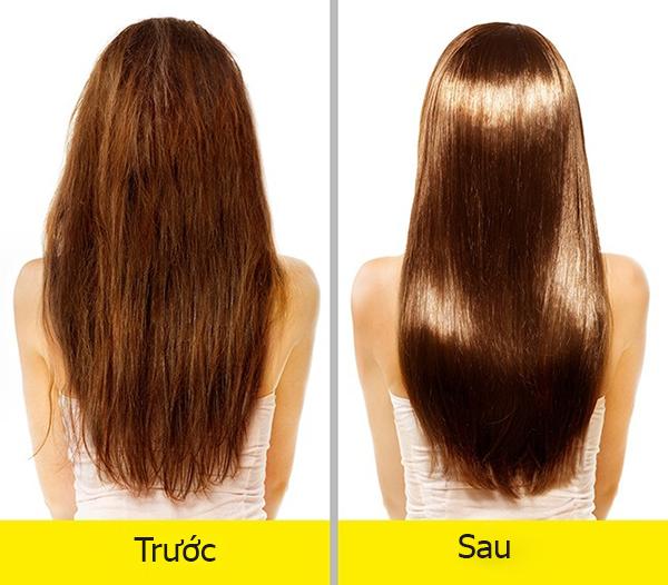 Tinh dầu bưởilàm mượt tóc