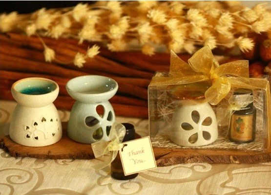 Xông hương với tinh dầu hương nhu tía