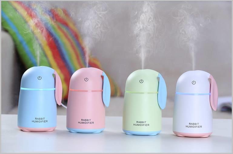 Máy phun sương khuếch tán tinh dầu mini Rabbit Humidifier - Ảnh 1