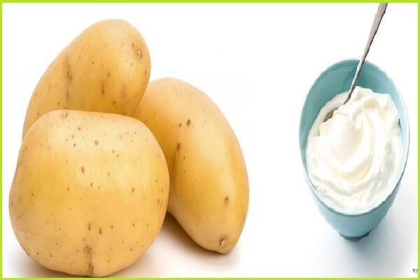 Khoai tây giúp da trắng sáng