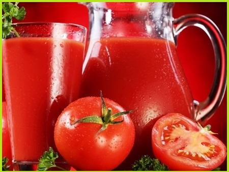 Cà chua làm trắng da tự nhiên