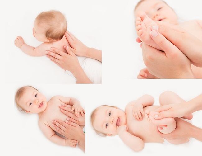 Cách massage cho bé chuẩn nhất