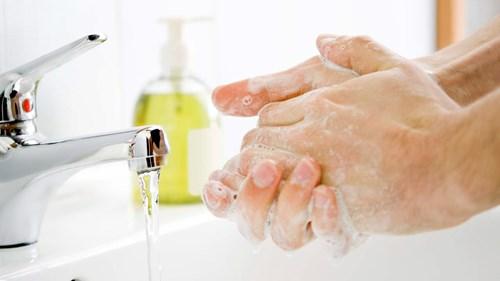Rửa tay nhiều ngăn cảm cúm
