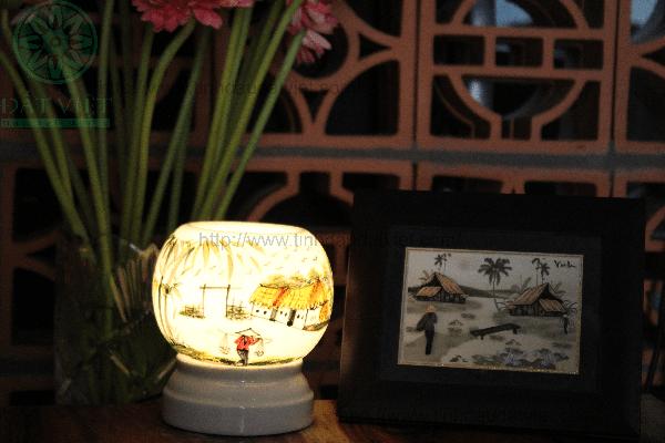 Đèn xông tinh dầu bằng điện Mẫu DX08