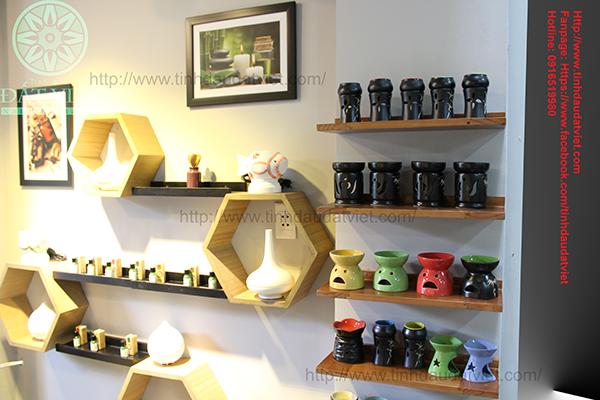 Tinh dầu Đất Việt - Hướng dẫn sử dụng đèn xông tinh dầu